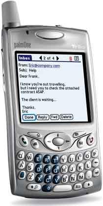 Palm Treo 650 ze servisu